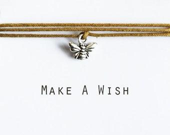 Make A Wish Bee Bracelet