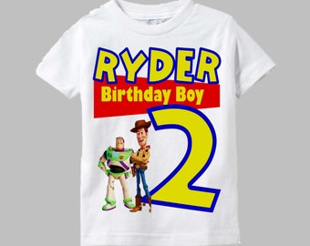 Toy Story Birthday Shirt - Woody and Buzz Shirt