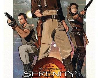 SERENITY mini movie poster