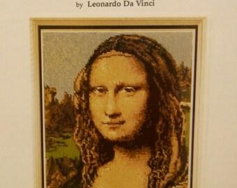 MONA LISA Cross Stitch Pattern 61 Fine Arts Heritage Society Leonardo Da Vinci