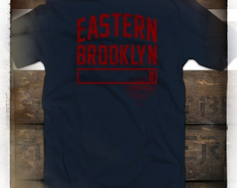Eastern Brooklyn n.y.  t-shirt   by STANDARD BROOKLYN and WARDROBE