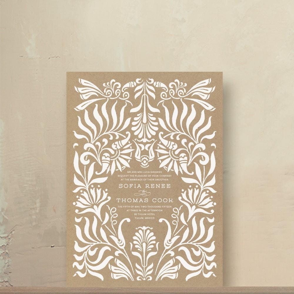 printing wedding invitations on kraft paper - 28 images - noemi bj s ...