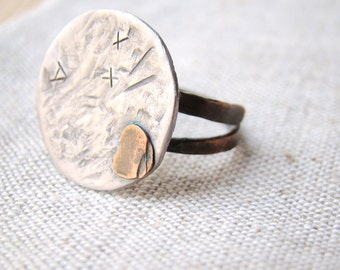 Mens Band, textured mens ring, hammered ring, mens ring, mans ring band