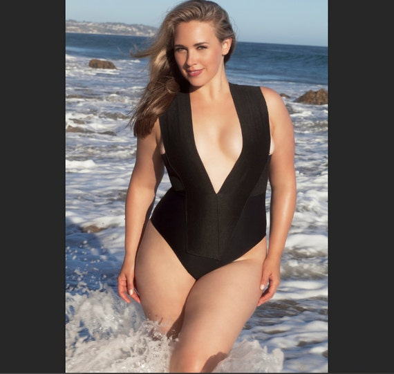 plus size bandage swimsuit/ bathing suit one piece swimwear