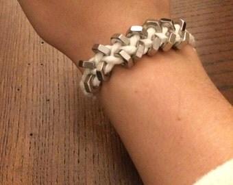 Hex Nut Industrial Bracelet