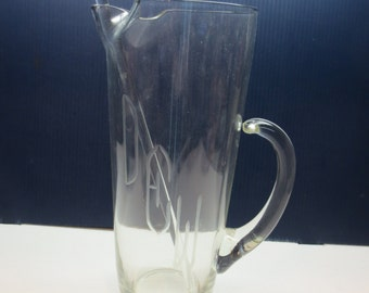 Mad Men Vintage Martini Pitcher With Stirrer