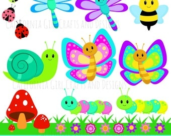 Caterpillar clipart | Etsy