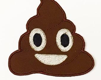 Poop Emoji Patch