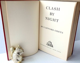 Clash By Night Clifford Odets First Printing 1942