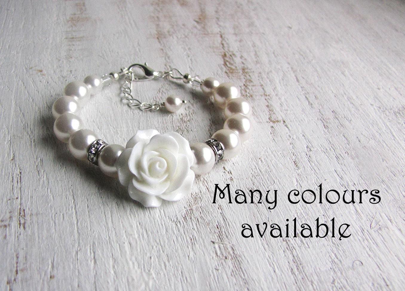 Flower girl gift ideas flower girl bracelet toddler girl zoom dhlflorist Image collections