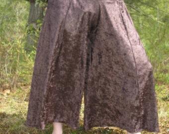 Fancy Dance Pants, crushed stretch velvet