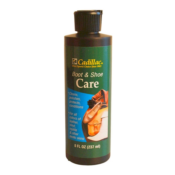 Cadillac Boot & Shoe Cream Leather Lotion CLEANer ...