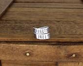 Cruelty Free Style B - Vegan - Aluminum Wrap Ring