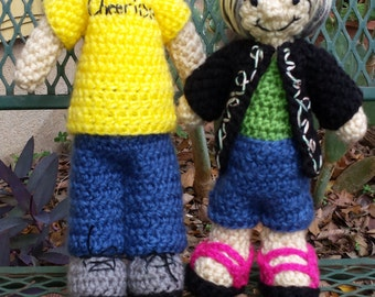 Handmade Customized Crochet Dolls of You or someone you Know-Dollification