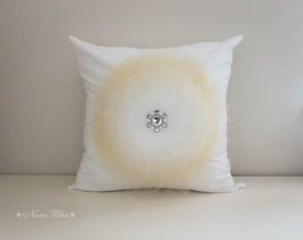 Decorative Pillow, Nursery Pillow, White Pillow Cover, White Sofa Pillow, Bedroom Decor, Wedding Pillow, Accent Pillow, Wedding Gift Pillow