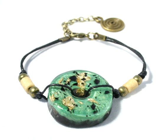orgone bracelet 24k gold shungite and ormus orgonite emf