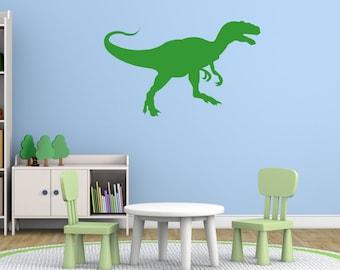 T Rex Dinosaur Wall Sticker, Dinosaur Wall Decals, Boys Wall Art, Boys