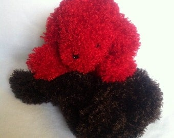 Puppy Handmade Silky Haired Stuffed Animal