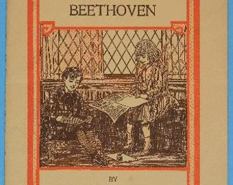 1917 sticker book Beethoven