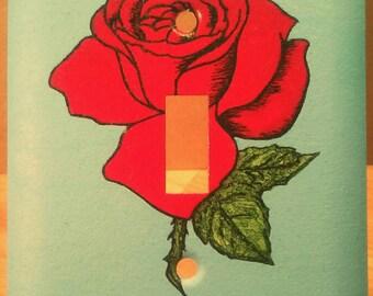 La Rosa Single Light Switch Cover Loteria The Rose Room Decor