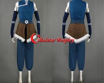 Korra cosplay costume from The Legend of Korra Avatar season 4 - Custom made in any size