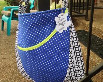 Geometric Purse / Messenger Bag