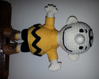 11 inch  Crochet Charlie Brown