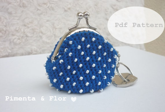 Crochet Beaded Bag Pattern : All Bags & Purses