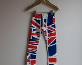 Hipster British Flag Baby Children Leggings