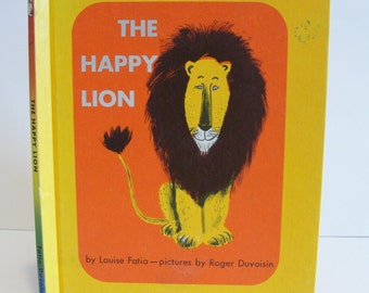 1970's The Happy Lion Louise Fatio and Roger Duvoisin Hardcover