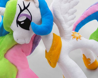 My Little Pony Friendship is Magic MLP FiM / Princess Celestia plush / Made to order