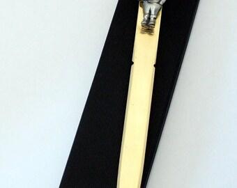 Garden Gnome Letter Opener (paper knife), Handmade, Gift Boxed (h)