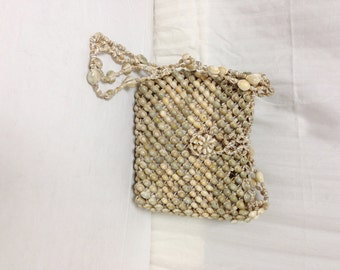 Free Ship purse Sea Shell Beaded Shoulder Bag