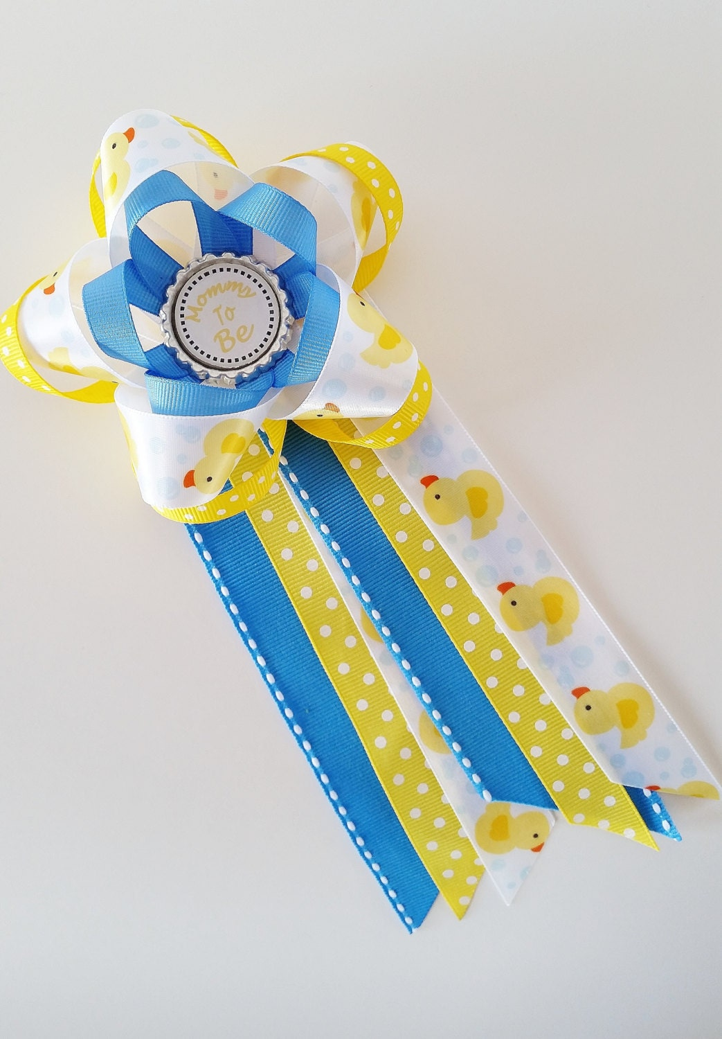 Rubber ducky bathroom accessories - Rubber Ducky Baby Shower Corsage Mommy To Be Pin Baby Shower Mum Grandma