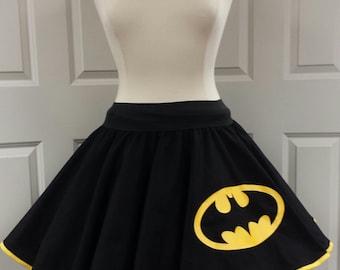 Batman  Skirt (Assorted Colors Available)