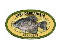 Popular items for crappie art on etsy for Lake dardanelle fishing