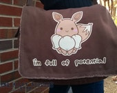 I'm Full of Potential; Eevee Messenger Bag