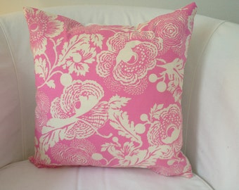 Decorative printed pillow cover