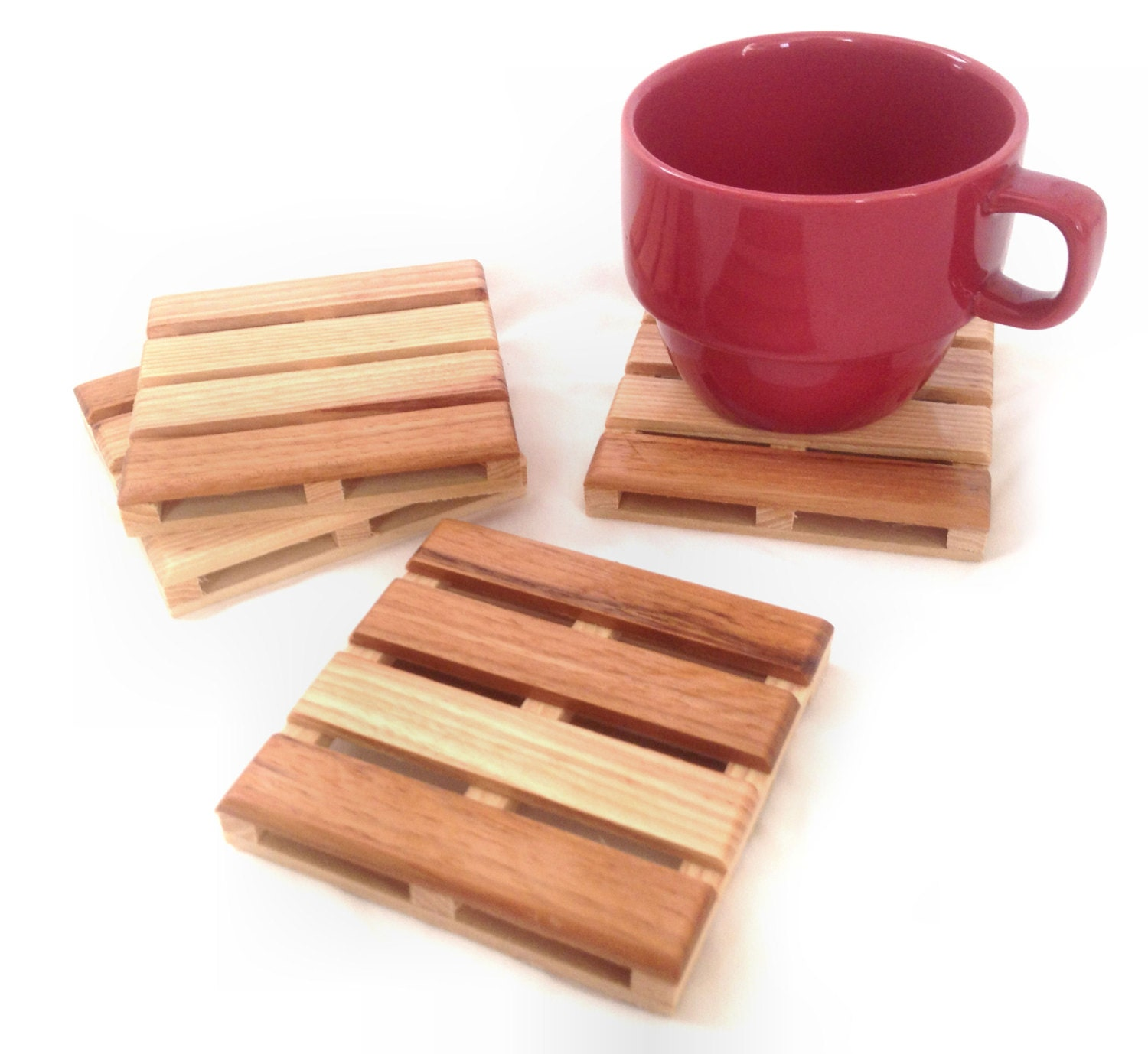 Beverage Pallet Drink Coaster Coffee Coaster 4 Coaster Set