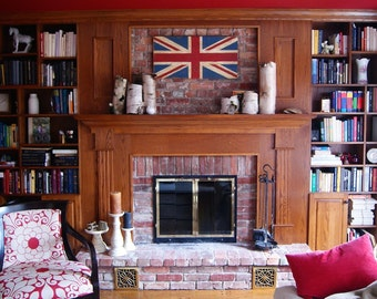 Wooden Union Jack, Decorative, Distressed and a Variety of Sizes!