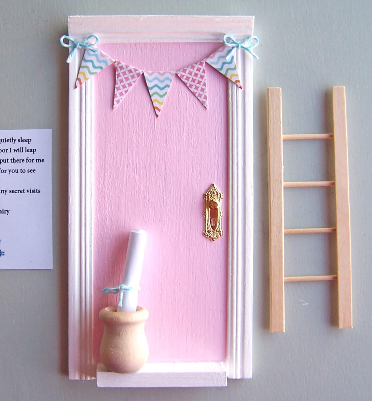 Fairy door tooth fairy door fairy door kit baby shower for Tooth fairy door