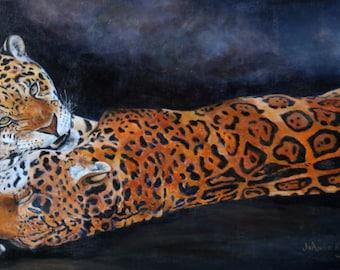 Jaguars poster print