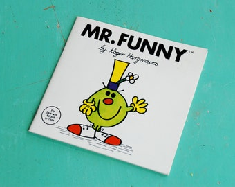 Mr Funny of Mr. Men Books by Roger Hargreaves