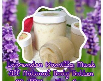 Lavender Vanilla Musk Body Butter