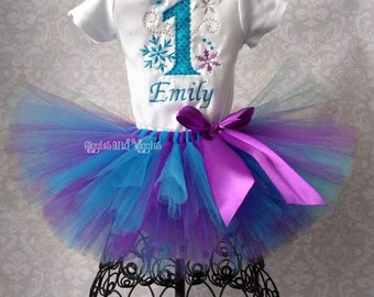 Winter ONEderland Tutu, Ice Queen, Snow Princess Tutu, Any Number
