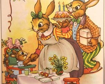 "Birthday Party - Vintage print from ""Happy Birthday Harriet,"" 1984"