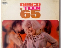 Disco Teen '65 LP Vinyl Record Album, Columbia Record Club - DS-81, Rock, Pop, 1965, Original Pressing