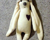 Hare Stuffed Woodland Toy Soft Sculpture Decorative Toy