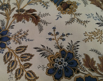 Floral fabric - by Andover fabrics by the metre, Yardage, Cotton by the metre