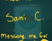 Reserved for Sami C